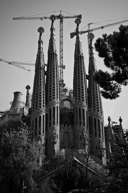 bcn world famous construction site flickr photo sharing