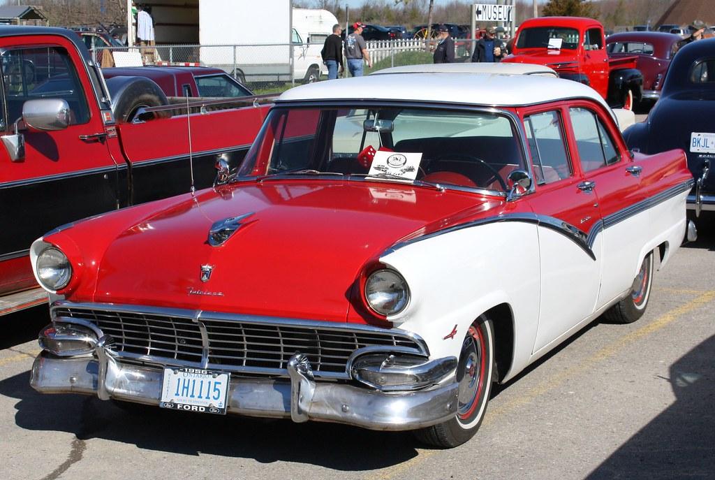 1956 ford fairlane 4 door town sedan richard spiegelman for 1956 ford fairlane 4 door hardtop