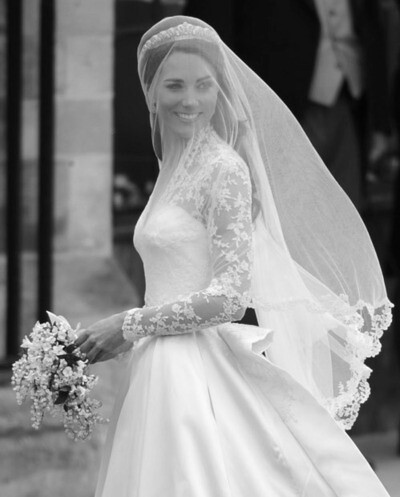 Wedding dress of new british princess kate middleton flickr for Princess catherine wedding dress