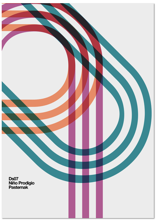 Colour Line Art Design : Poster by quim marin quimmarin marindsgn