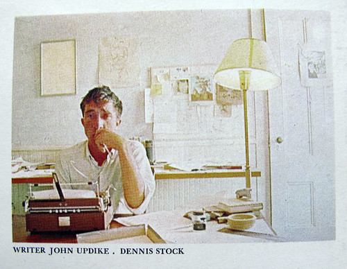 A Rockwellian John Updike by Dennis Stock | by warymeyers blog