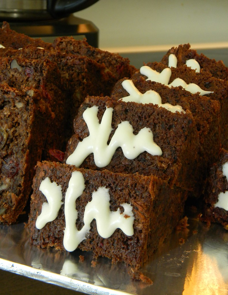Double Cranberry Carrot Cake