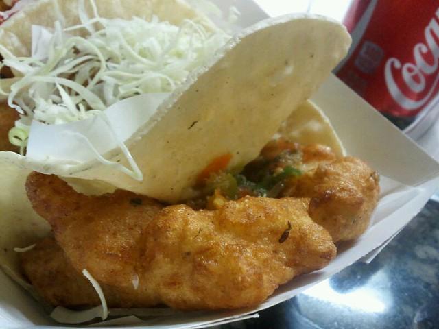 Fish taco best fish taco in ensenada flickr photo for Best fish taco recipe in the world