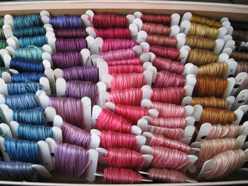 Project Embroidery Floss Organize I Finally Took All Of