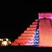 Chichen Itza at night