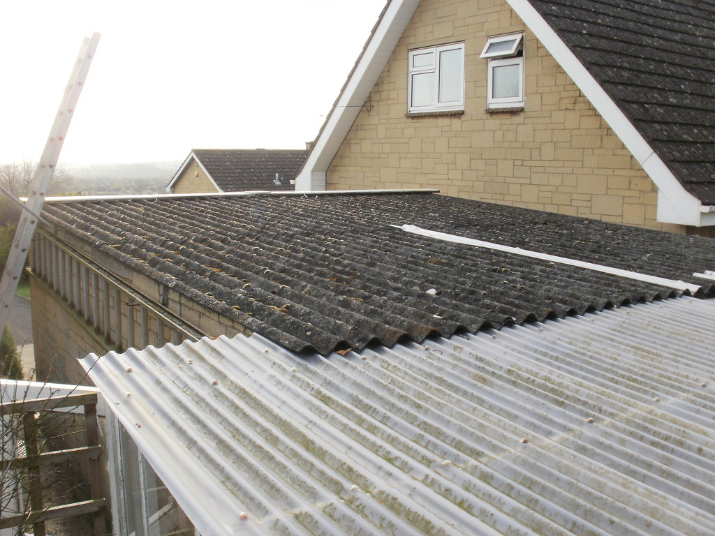 Asbestos Cement Garage Roof Covering | Enterprise Roofing ...
