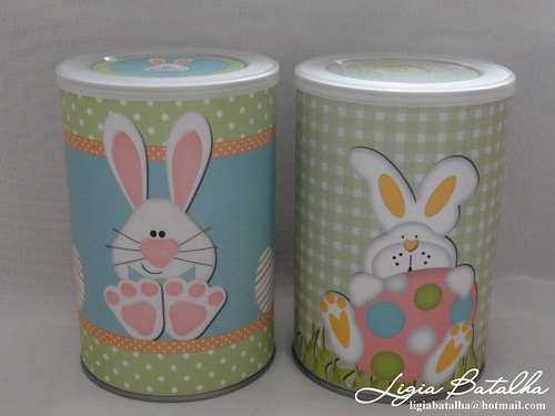 Latas Decoradas de P?scoa Flickr - Photo Sharing!