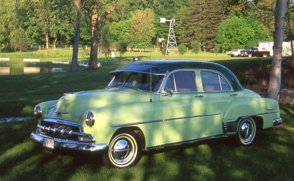 1952 chevrolet styline deluxe 4 door richard spiegelman for 1952 chevy 4 door