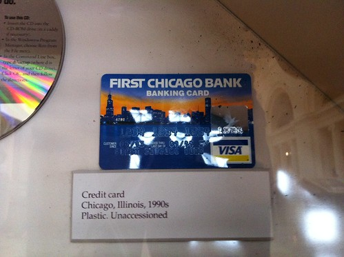 A piece of banking history | A First Chicago Bank Visa ...