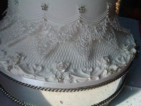 Royal Iced Wedding Cake Grimsby Vintage Wedding Cake