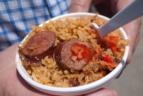 Pork and Sausage Jumbalaya, the sausages are especially tasty. (Food 2) | by chez pim