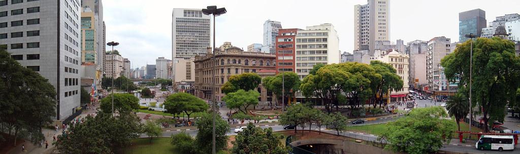 <p>São Paulo: primeira cidade brasileira a instituir uma política climática municipal (Foto: Diego Torres Silvestre/Flickr)</p>