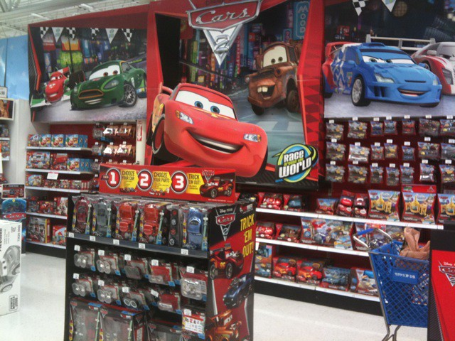 Toys R Us Toy Cars : Massive cars section at toys r us including ridemakerz