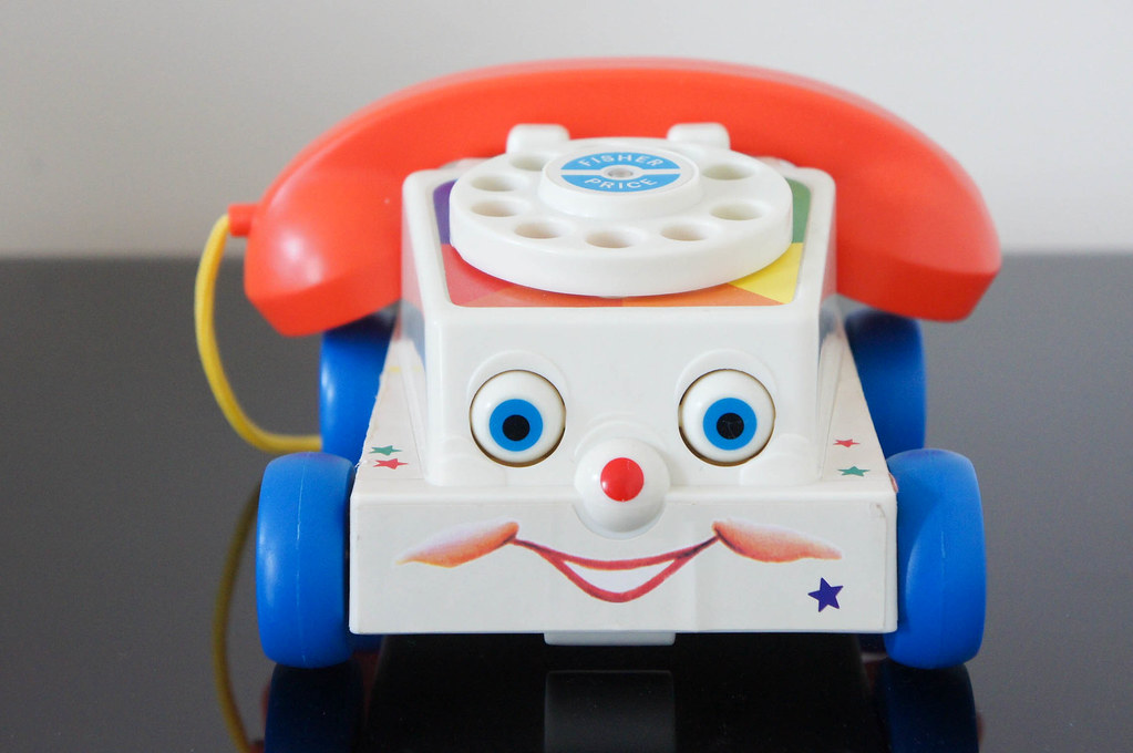 "Chatter Telephone from ""Toy Story 3"". 