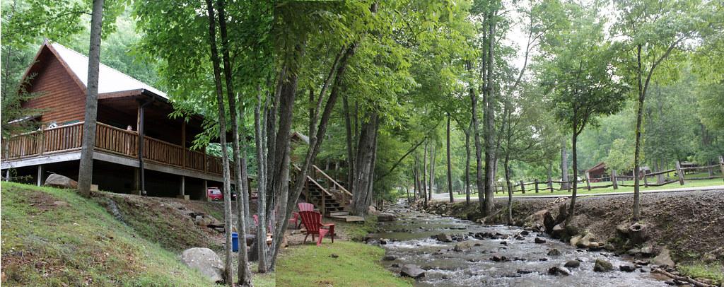 """""""Deer Run"""" cabin at Lands Creek Cabins in Bryson City (rev ..."""