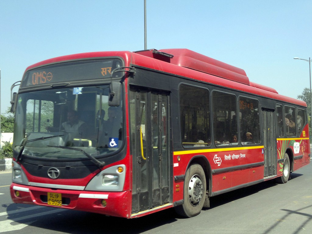 Dtc Ac Bus The Delhi Transport Corporation Dtc