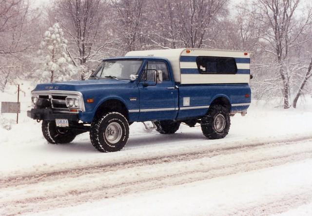 gmc 4x4 1971 truck block diego san flickr