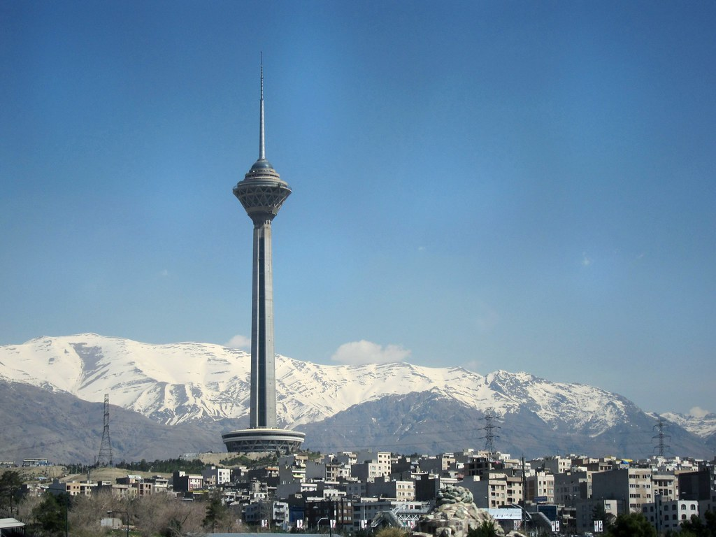 Iran >> The Milad Tower | It's the Milad Tower and a view of Tehran,… | Flickr