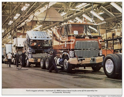 Ford Louisville Ky >> 75 Years Ford Motor Company 1978 - Fords biggest vehicles, Mammoth CL-9000 | Flickr - Photo Sharing!