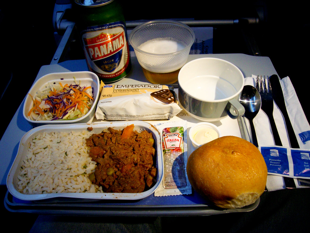 American Airlines Indian Food