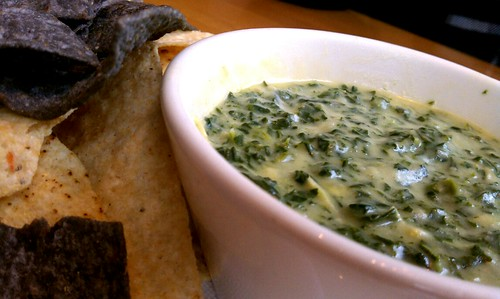 Tortilla Chips with Spinach Artichoke Dip @ California Pizza Kitchen | by marzbars