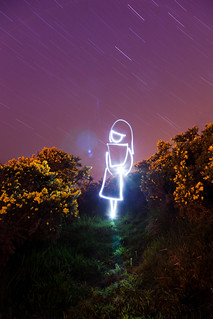 Being In The Universe (White Witch Light Painting), Dorset | by flatworldsedge