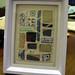 Umbrella Prints Trimmings comp: Shadow-box frame