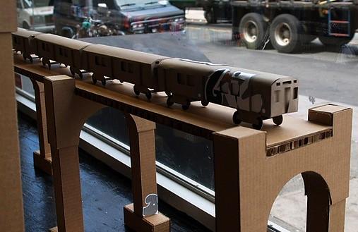 Cardboard Train Cardboard Train | by