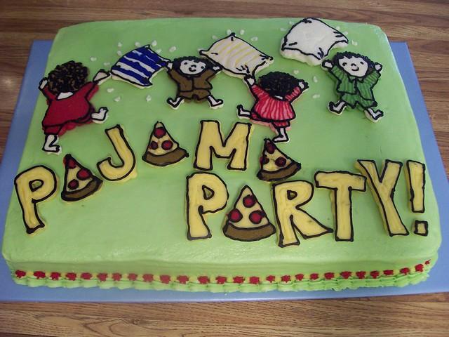 Pajama party cake Flickr - Photo Sharing!