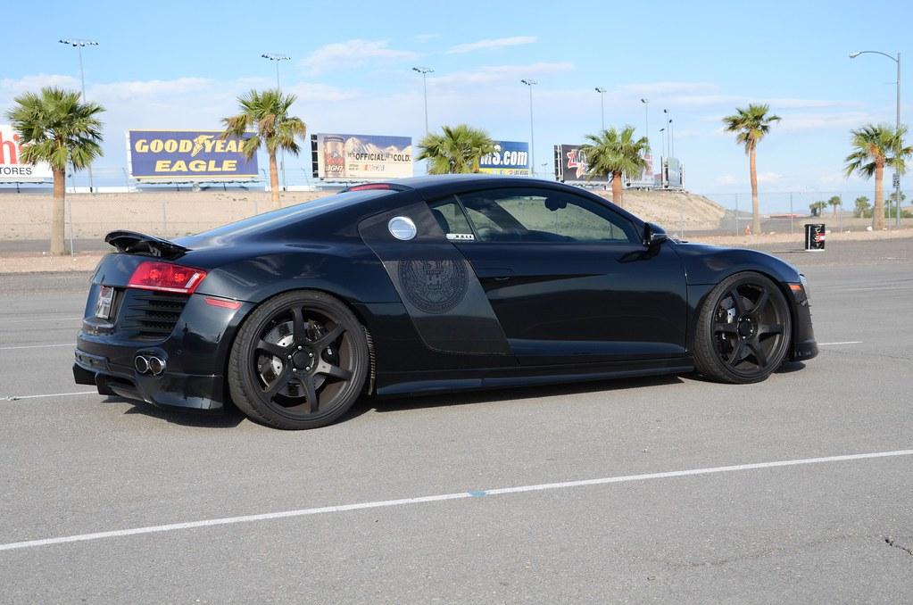 Black Audi R8 With Prior Design Body Kit At Mfest Prior