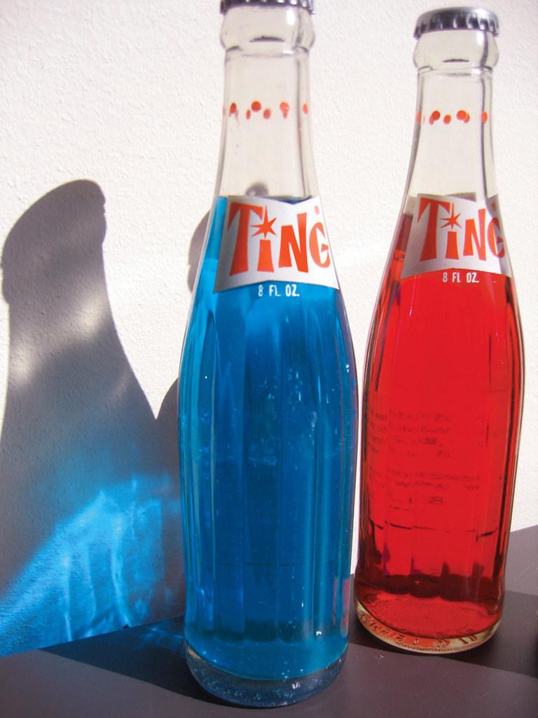 vintage TING soda
