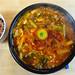 my soondubu jjigae (spicy soft tofu stew)