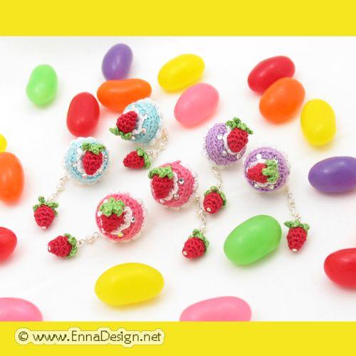 Mini Amigurumi Blog : Micro Mini Amigurumi Cakes Emi Kanesada Flickr