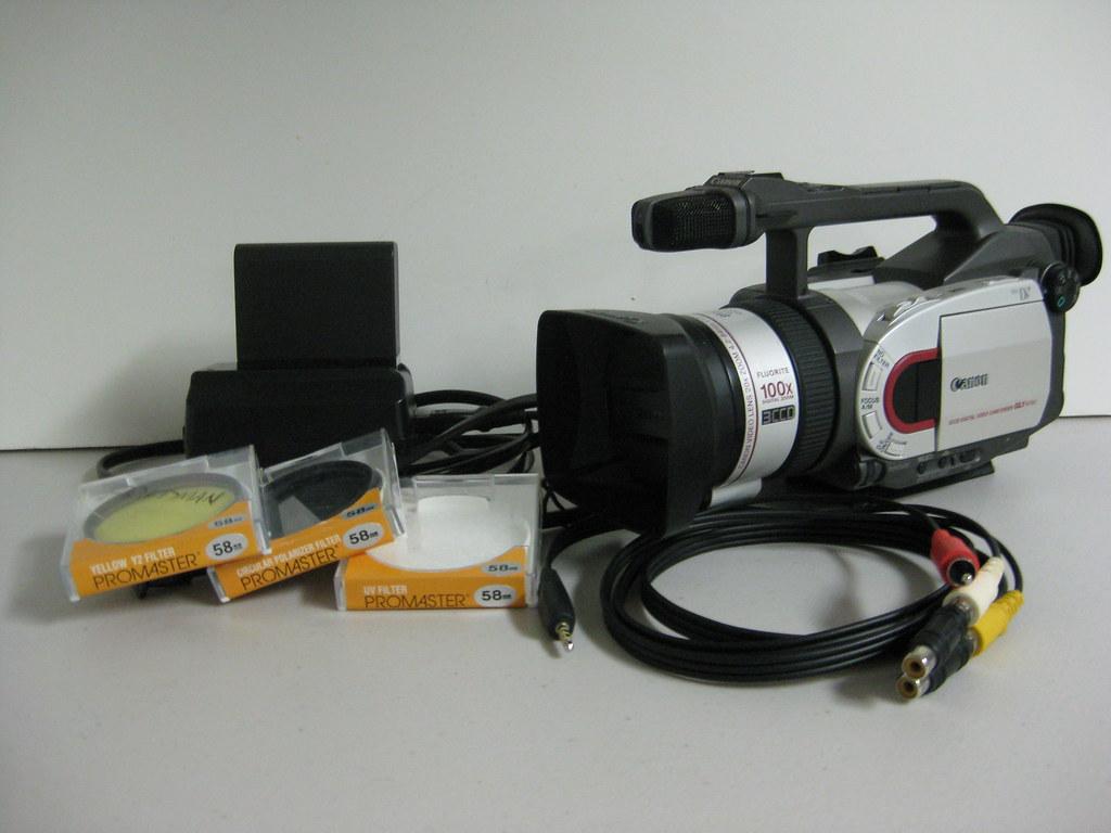 Canon Gl1 Camera Kit Canon Gl1 Camcorder Serial