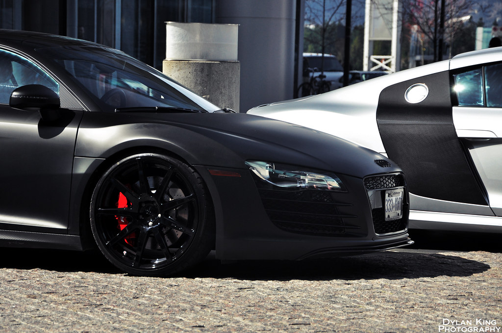 Matte Black Audi R8 Check Out My Facebook Page Dylan