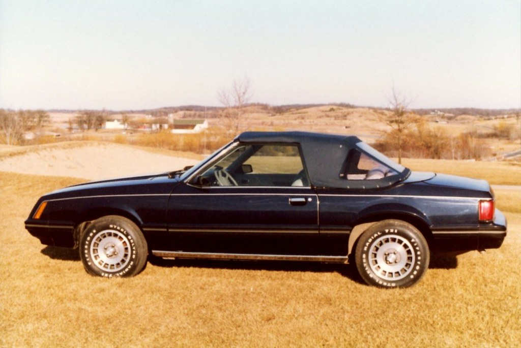 1981 ford mustang convertible by contec top up alden. Black Bedroom Furniture Sets. Home Design Ideas