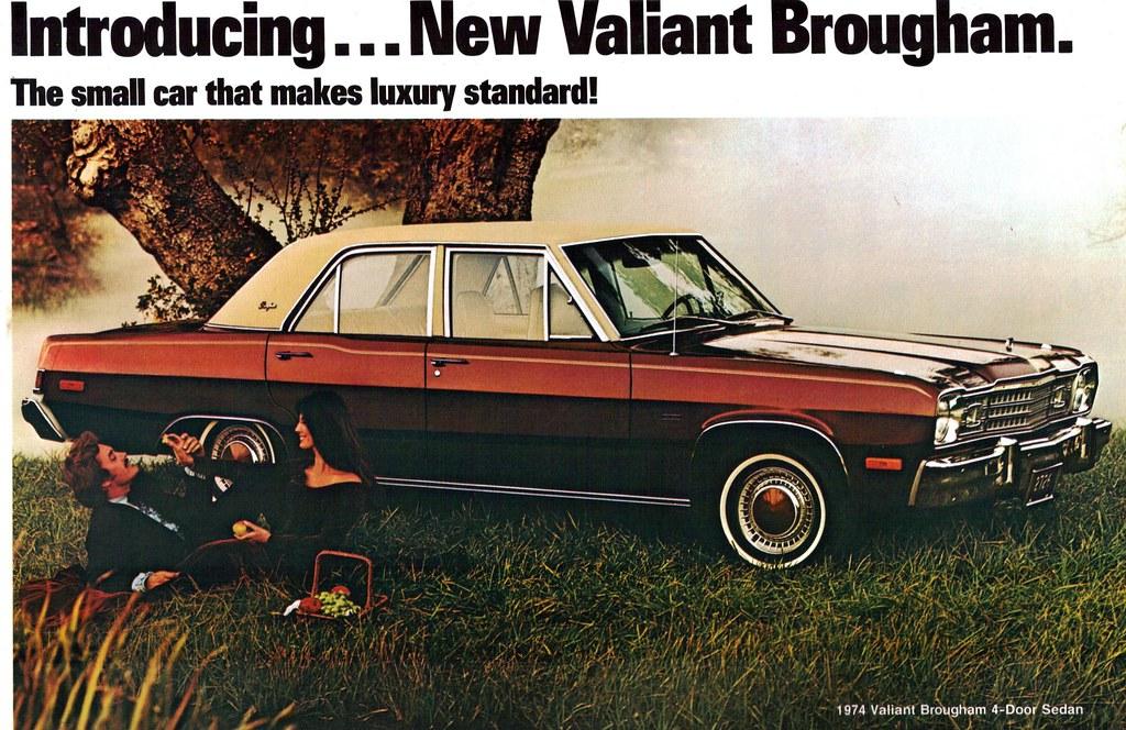 1974 Plymouth Valiant Brougham 4 Door Sedan Coconv Flickr