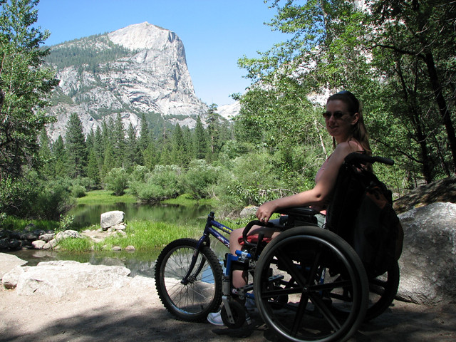 Hiking With My Adaptive Wheelchair In Yosemite National Pa