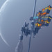 Space Elevator Rickshaw by Survivalartist