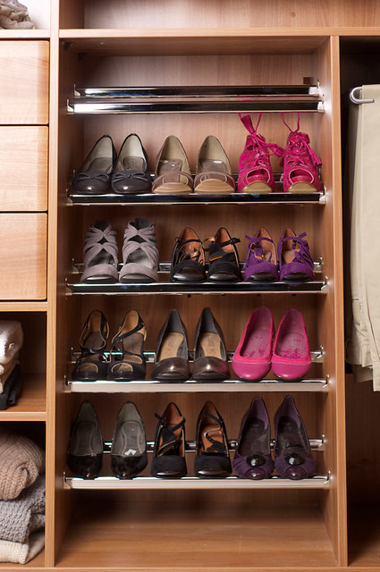 Fitted Wardrobe Interior Accessory Shallow Shoe Shelves