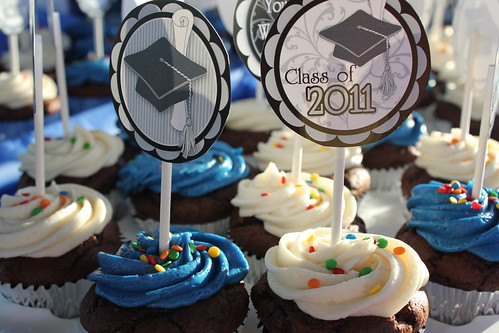 Graduation cupcakes | by jenna4m