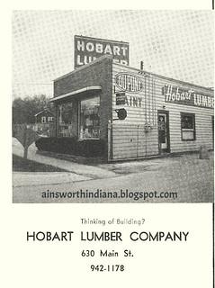 Hobart Lumber 1962