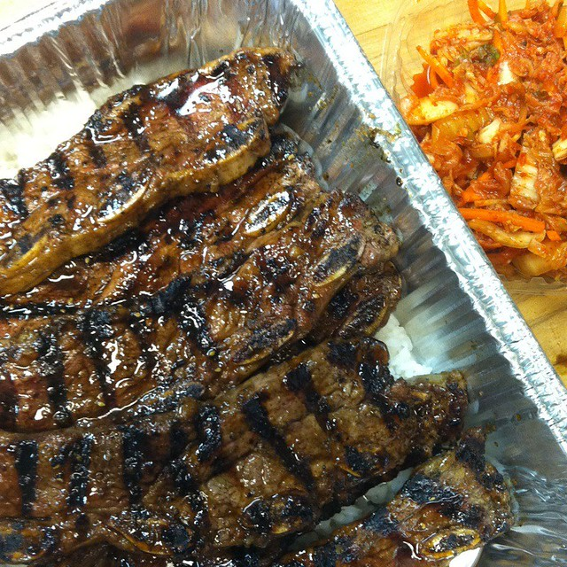 Kalbi Beef Short Ribs With Kimichi @ Smoakville | Flickr - Photo ...