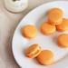 Mango Mascarpone Macarons