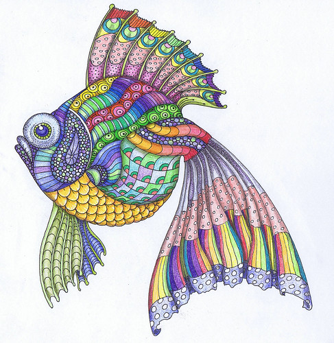 rainbow fish | by bostinstuff