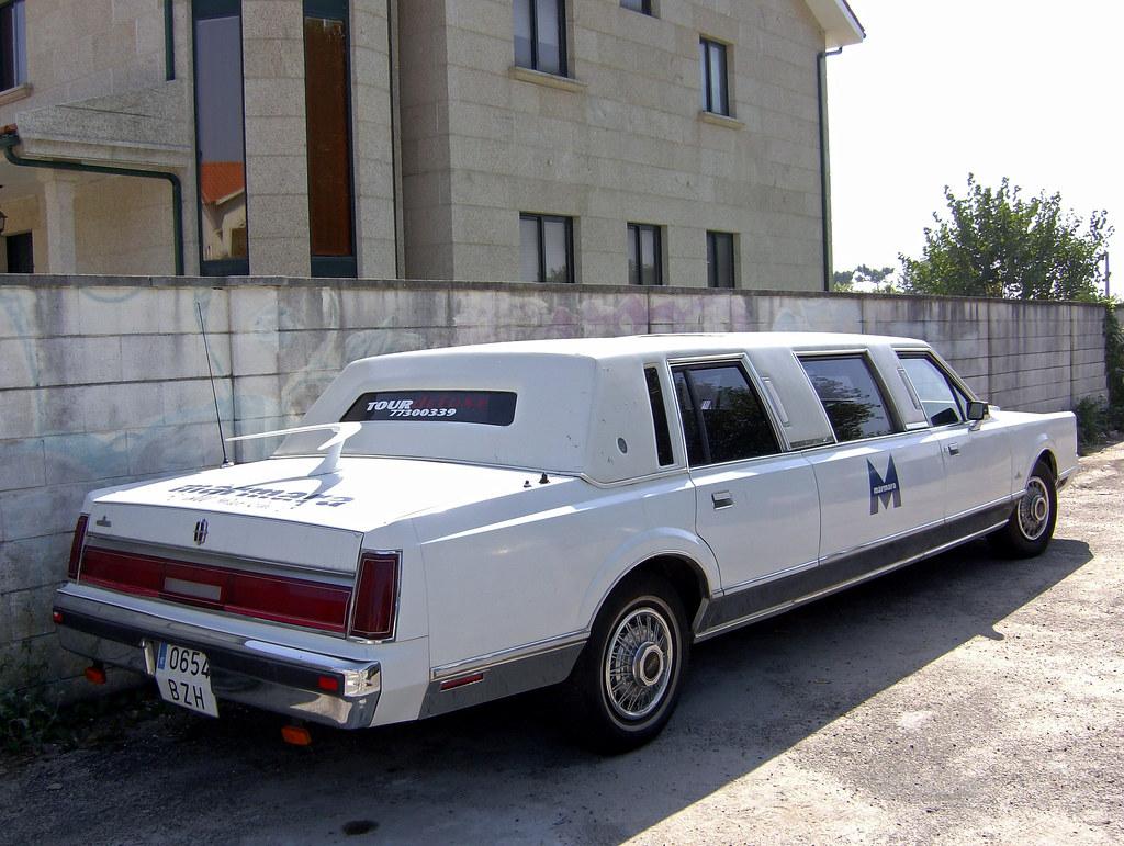 1986 Lincoln Town Car Limousine Fiattipoelite Flickr