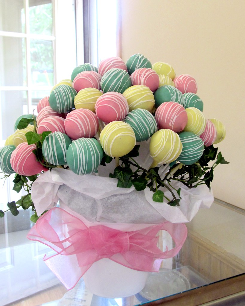 Cake Pop Bouquet Stephanie Sellers Flickr