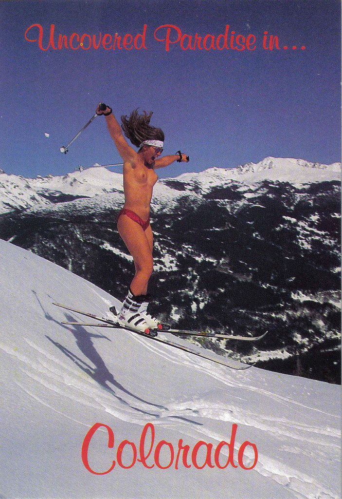 Remarkable, rather Topless photo of skier