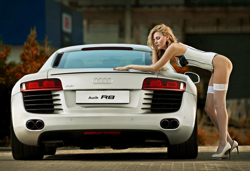 Audi R8 Color Thx For Model Judit Dacz 243 Assistants