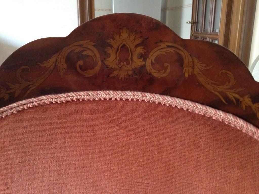 Sedie Tavolo Da Pranzo Particolare Dell'intaglio Delle 6 S  #441E16 1024 768 Sedie Per Tavolo Da Pranzo Antico